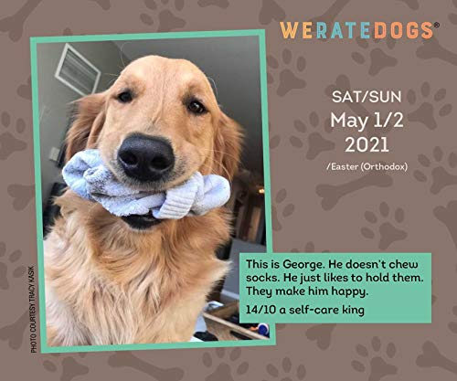 Volume 1 : WeRateDogs 2021 Day-to-Day Calendar
