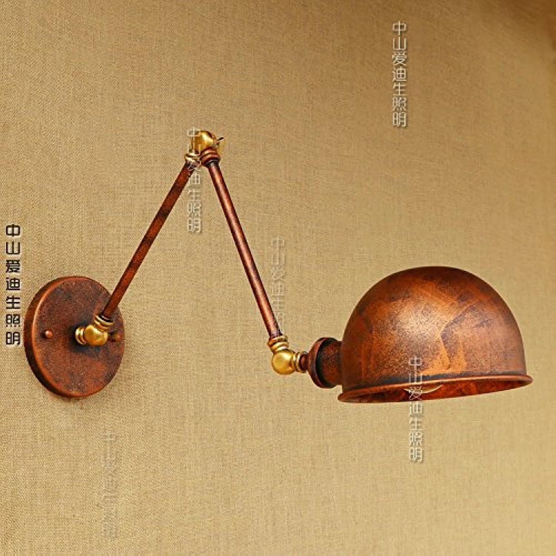 StiefelU LED Wandleuchte nach oben und unten Wandleuchten Dekorative Wand Lampen Teleskop doppel Abschnitt Eisen Wandleuchte Schlafzimmer Bett Studie Restaurant Lounge Bar mit, 20 +20 cm LED-Lampe