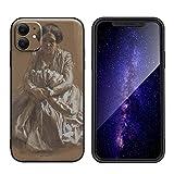 Adolph Menzel FundaparaiPhone11/Estuche para teléfono móvil de silicona artística/Impresiónaniv...
