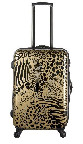 Koffer, Reisegepäck, Trolley by Heys - Premium Designer Hartschalen Koffer - Core Serengeti Metallic Bronze Handgepäck