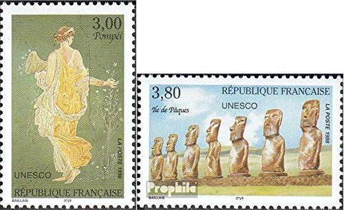 Prophila Collection Frankreich DB49-DB50 (kompl.Ausg.) 1998 Kultur und Natur (Briefmarken für Sammler) Kultur