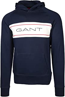 Gant Men's Archive Pullover Hoodie, White