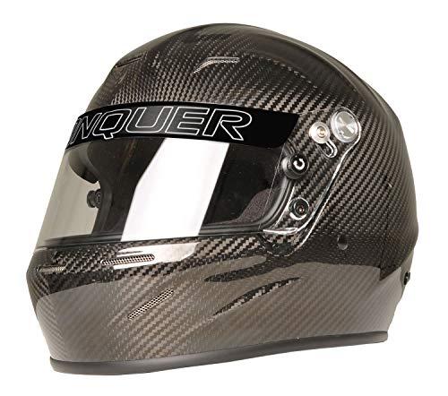Conquer Carbon Fiber Full Face Auto Racing Helmet Snell SA2020