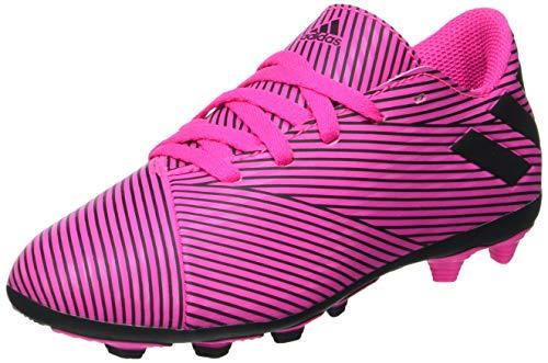 adidas Performance Nemeziz 19.4 FxG Fußballschuh Kinder pink/schwarz, 35.5 EU - 3 UK - 3.5 US
