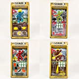 StikBot Zing Action Pack of 4 Series 2 - Stop Motion Action Figures - Colors May Vary