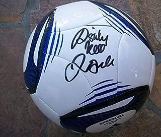 david beckham autographed soccer ball