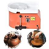 SEAAN Electric Pottery Wheel Machine 25CM Pottery Throwing Ceramic Machine Ceramic DIY Clay Tool for Ceramic...