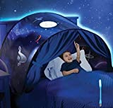 Tenda Per Letto Bambini Tende da Sogno Tenda da Gioco Tenda Pop-up Tenda Gioco Bambino per Interni ed Esterni Tenda Portatile con Borsa da Trasporto, Regalo per Bambini (Cielo stellato)