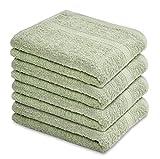 Talvania Hand Towels 100% Cotton Bathroom Towel Set...