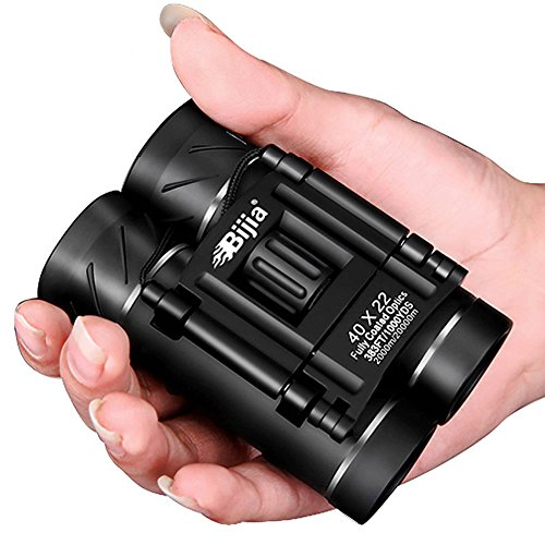 UrChoiceLtd® 2017 Neu Bijia 40X22 tragbar HD Optik Zoom Objektiv FMC BaK4 Nachtsicht Vollmetall Fernglas Teleskop für Jagd und Draussen Reise (Schwarz 3)Telescope