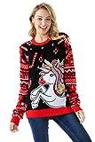 Women's Funny Unicorn Pullover - Princess Party Unicorn, X-Large