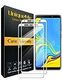 UniqueMe [2 pièces Protection écran pour Samsung Galaxy A9 2018 Blanc, Ultra Résistant Film...