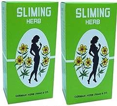100 Tea Bags German Herb Sliming Diet Fit Slimming Fast Slim Detox Lose Weight (Thai_trustyworthy Store Free Keyring Classic Style)