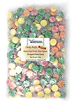 Yankee Traders Brand Assorted Fruit Starlight Wrapped Candy 4 Pound