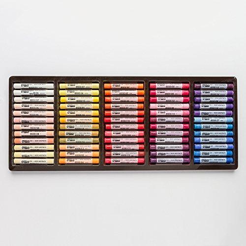 KOH-I-NOOR TOISON D'OR 8539 zachte kunstenaars-pastelkrijtjes in houten koffer (120 delige set)
