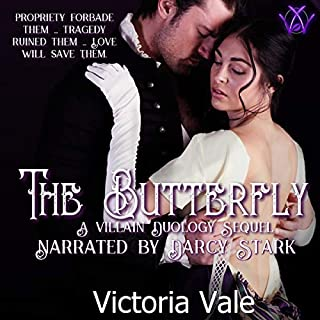 The Butterfly: A Villain Duology Sequel audiobook cover art