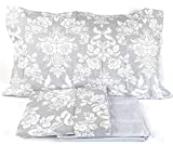 Juego de funda nórdica Bossi para cama de matrimonio, colección Martha O'Neil, artículo Oscar, variante 9, gris