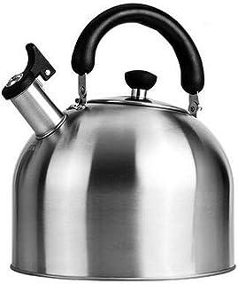 LJBH Classic Kettle, Hot Water Kettle,Teakettle,VersionStainless Steel Tea Coffee Kettle,  Works On Gas/Induction Stovetop...