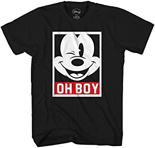 Mickey Mouse Frame Face Disneyland World Funny Humor Pun Mens Adult Graphic Tee T-Shirt