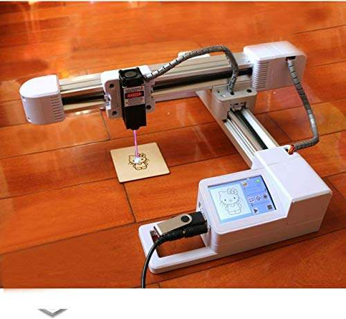 Laser Engraver laser engraving machine 3000mw laser class 4 Off-line Upgrade Version CNC Pro DIY Logo engraver