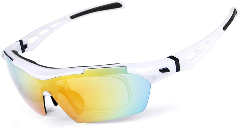 Blisfille Gafas Protectoras de Trabajo Gafas de Deporte Fotocromaticas,Azul