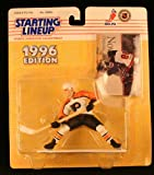ERIC LINDROS / PHILADELPHIA FLYERS 1996 NHL Starting Lineup Action Figure & Exclusive Collector Skybox Trading Card -