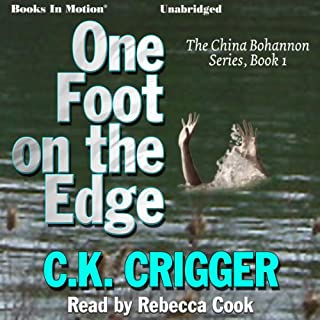 One Foot on the Edge audiobook cover art