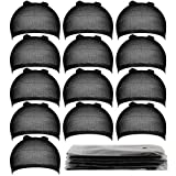 Teenitor 20 Pieces Wigs Cap, Black Stocking Caps, Stretchy Nylon Caps for Wig,...
