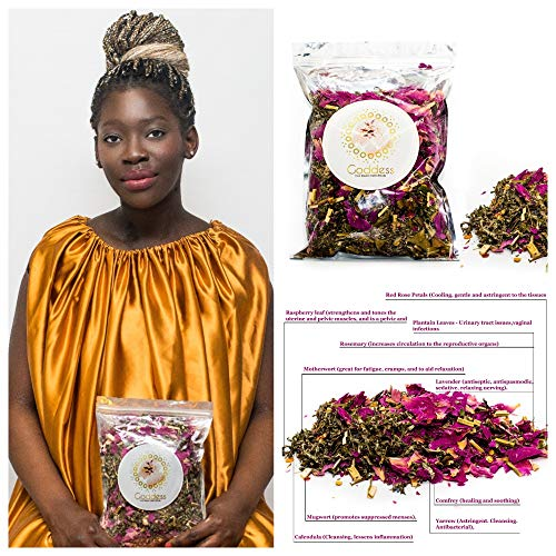 Goddess Blend Yoni steam herbs for cleansing and tightening Yoni Steam Vaginal Steam Holistic V Steam Yoni Detox Calming Therapy Multi Herb Concentrated Blend 3.8oz