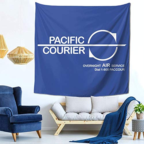 1033 Die Hard Pacific Courier, Trucker Cap Wall Hanging Tapestry for Living Room and Bedroom Spreads Good Vibes 59×59 Inches