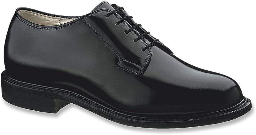 Bates Men's Premier Oxford Shoes Round Toe Black 13 EE