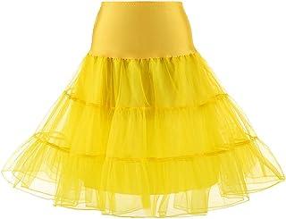 Shinningstar Women's Free Size Underskirt Petticoat Dress Crinoline