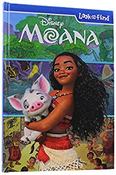 Disney Moana Look and Find Activity Book - PI Kids