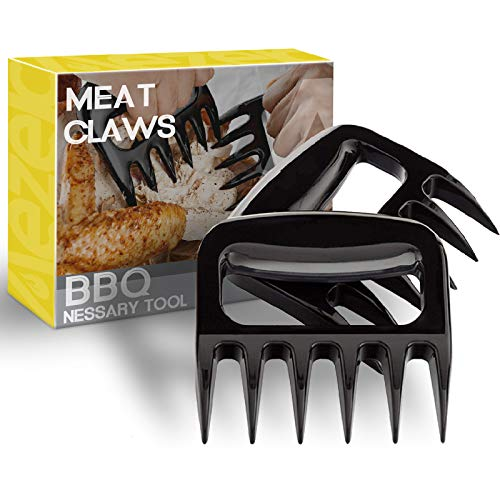 Walfos Stainless Steel Pulled Pork Shredder Claws Essential for BBQ Pros
