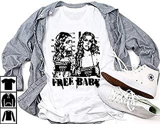 Free The Three Rob Zombie shirt, Free Baby Rob Zombie Tour UNISEX MEN LADIES HOODIE TANK TOP SWEARSHIRT LONG SLEEVE TSHIRT for Men Women Ladies Kids (165)
