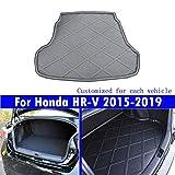 Le nouveau noir mat tapis de coffre de voiture de queue de tapis de coffre Pour HRV HR-V 2015 2016 2017 2018 2019