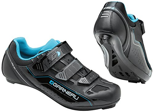 Louis Garneau Jade Women's Cycling Shoe: Black/Blue 40