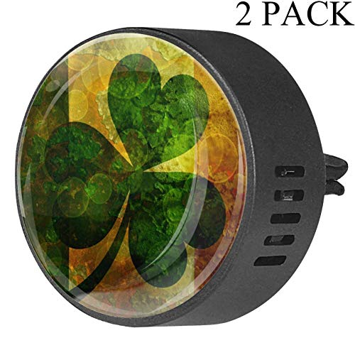 Difusor Aire Coche diseño Bandera Irlanda trébol