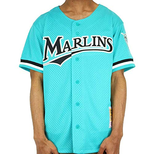 Andre Dawson Marlins Authentic BP Jersey (3X-Large)