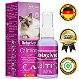 Relaxivet Natural Calming Spray for Cats and Dogs with a Long-Lasting Calming Effect - #1 Spray for Stress and Anxiety - Anti-Anxiety Spray for Pets