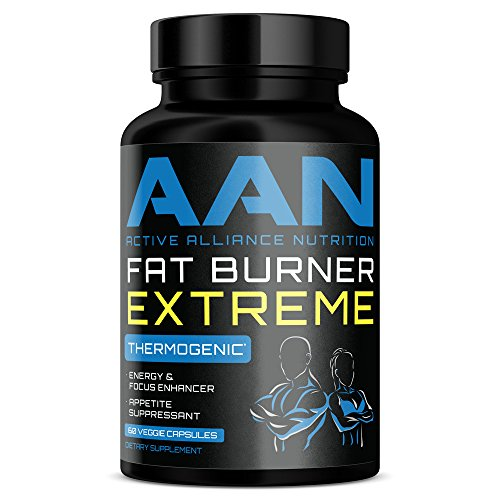 AAN Fat Burner Extreme- Energy, Fat Loss, Appetite Control, Vegan Friendly