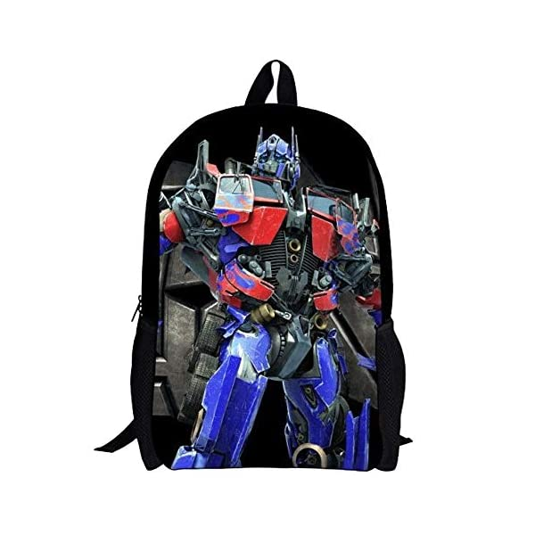 51zTrRSJOPL. SS600  - Transformers Mochila para niños Nueva Mochila de Pareja preferida Hot New Trend Backpack (Color : A01, Size : 32 X 16 X…
