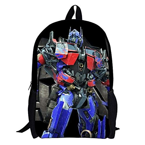 51zTrRSJOPL - Transformers Mochila para niños Nueva Mochila de Pareja preferida Hot New Trend Backpack (Color : A01, Size : 32 X 16 X…