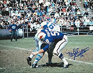 Autographed Signed Mike Stratton Buffalo Bills 8x10 Photo - Certified Authentic