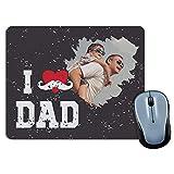 LolaPix Alfombrilla Raton Foto Personalizada. Regalos Personalizados Dia del Padre. Varios Modelos. 18X22. Happy Dad