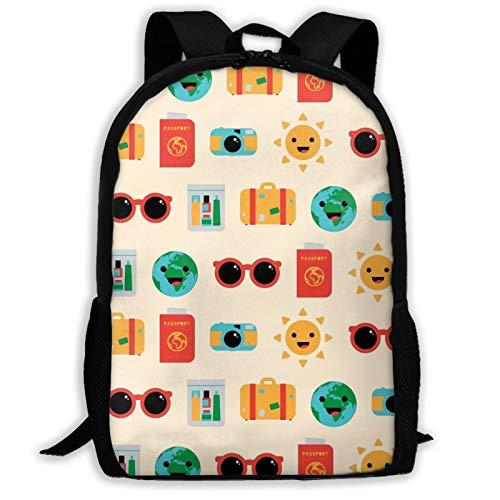 Travel Variety Face Towel The Hedgehog 11 Backpack Shoulder Bag Travel Bags Laptop Bag School Bag For Boys Girls