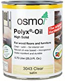 Osmo Polyx-Oil - 3043 Clear Satin - .75 Liter