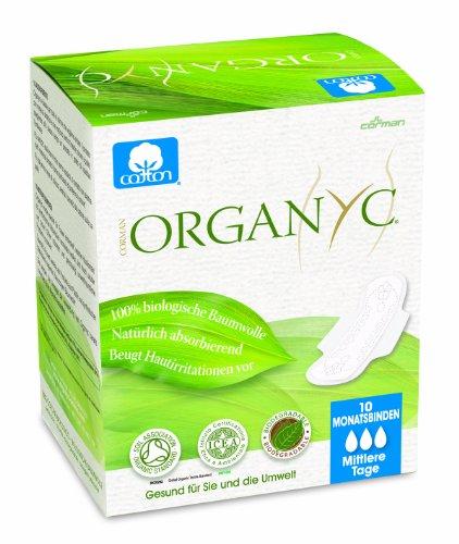 Organyc Lot de 4 paquets de 10 serviettes...