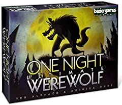 Each player gets a unique role: A Werewolf, Seer, Troublemaker, or another, all with special abilities After a secret night phase that includes changing roles, players have just 5 minutes to find a Werewolf Includes a free iOS/Android app that makes ...