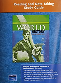 Prentice Hall World History: The Modern Era, Reading And Note Taking Study Guide 0131333461 Book Cover